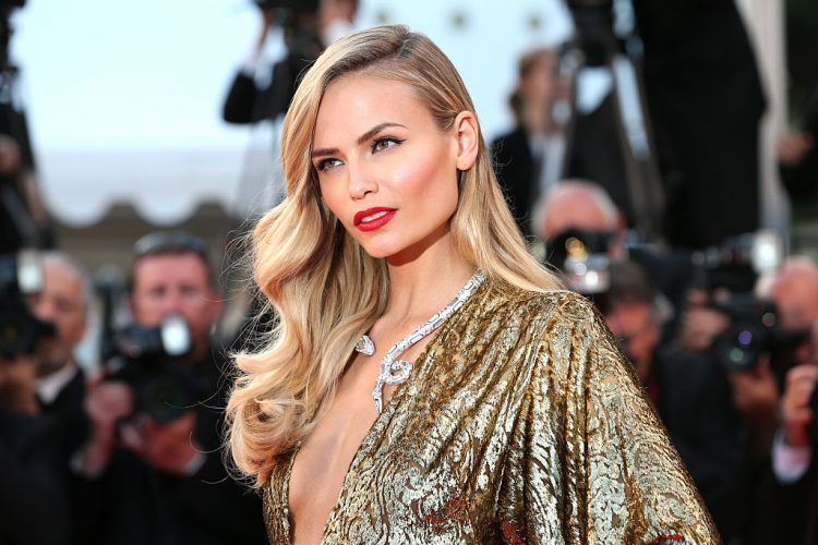 CANNES, FRANCE - MAY 16:  Natasha Poly attends the premiere of 'The Sea Of Trees' during the 68th annual Cannes Film Festival on May 16, 2015 in Cannes, France.  (Photo by Gisela Schober/German Select)